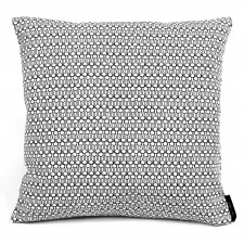 Square cushion, Drop black