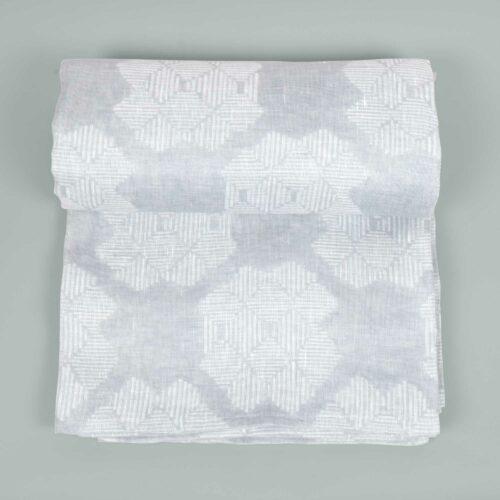 Table cloth, Desert rose grey, 100% linen