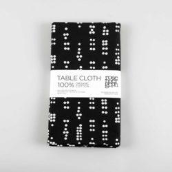 Table cloth, Dot black