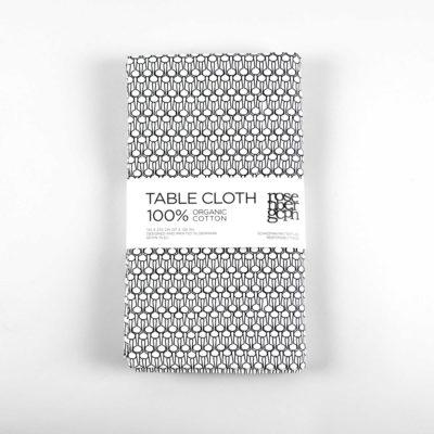 Table cloth, drop black