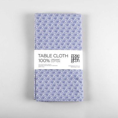 Table cloth, fili blue