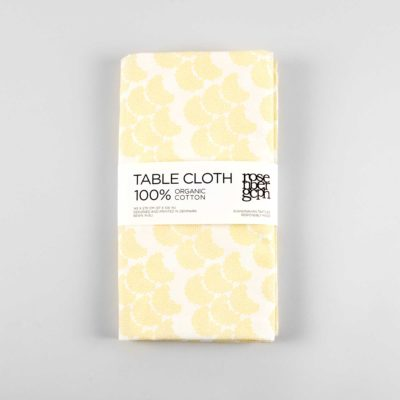 table cloth, obi yellow