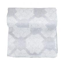 Table cloth, Desert Roses Grey, 100% linen