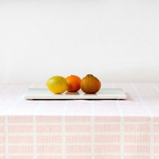 Tablecloth, Tile pale rose