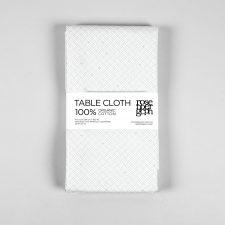 Table cloth, weave aqua