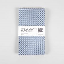 Table cloth, Weave blue