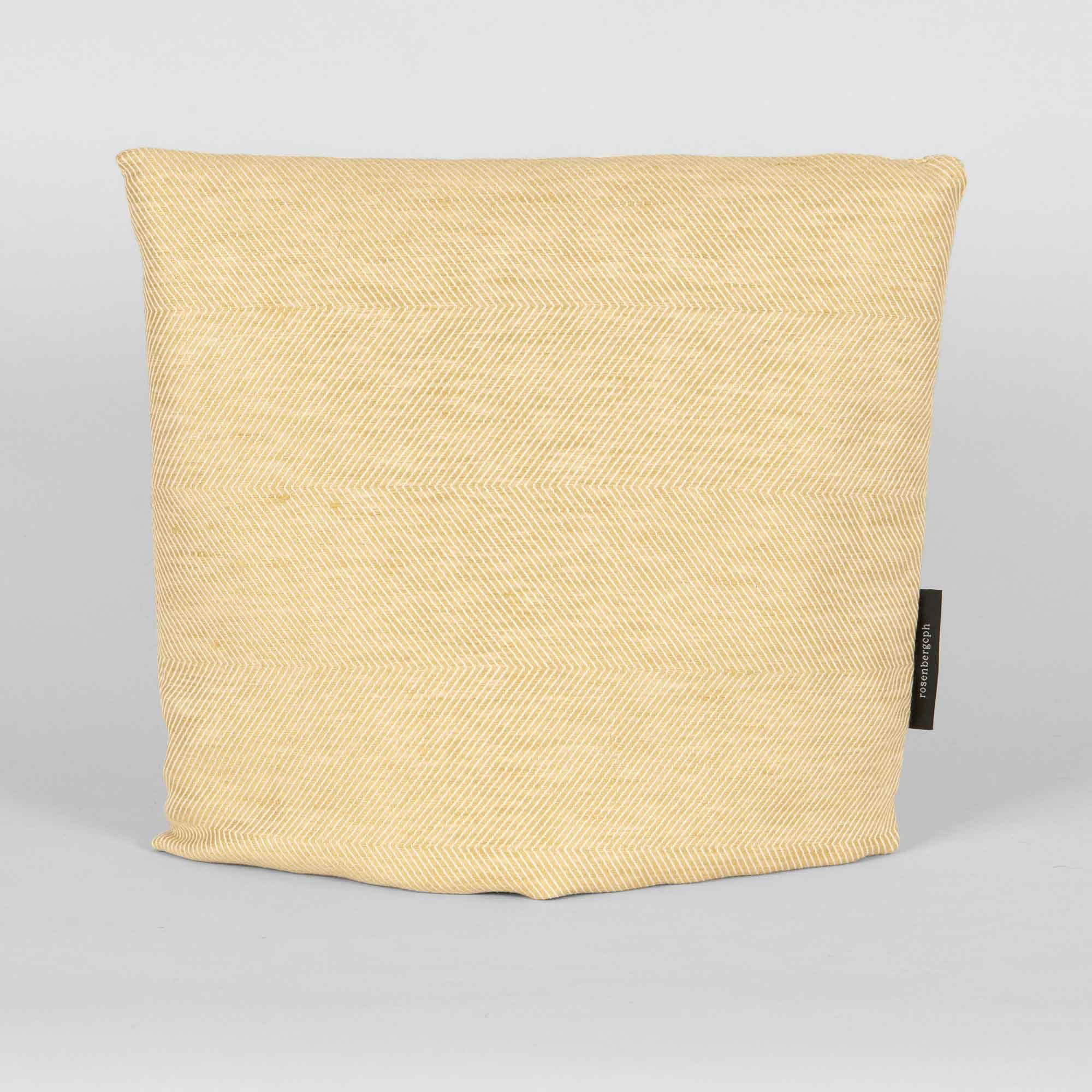 tea cosy, hay yellow, linen/cotton, design by Anne Rosenberg, RosenbergCph