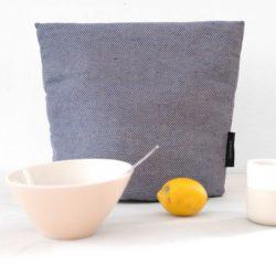 Tea cosy, blue linen/cotton, Design by RosenbergCph