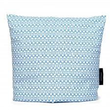 Tea cosy, Drop blue organic cotton