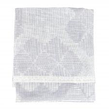 Towel, Desert Roses, Grey, 100% linen