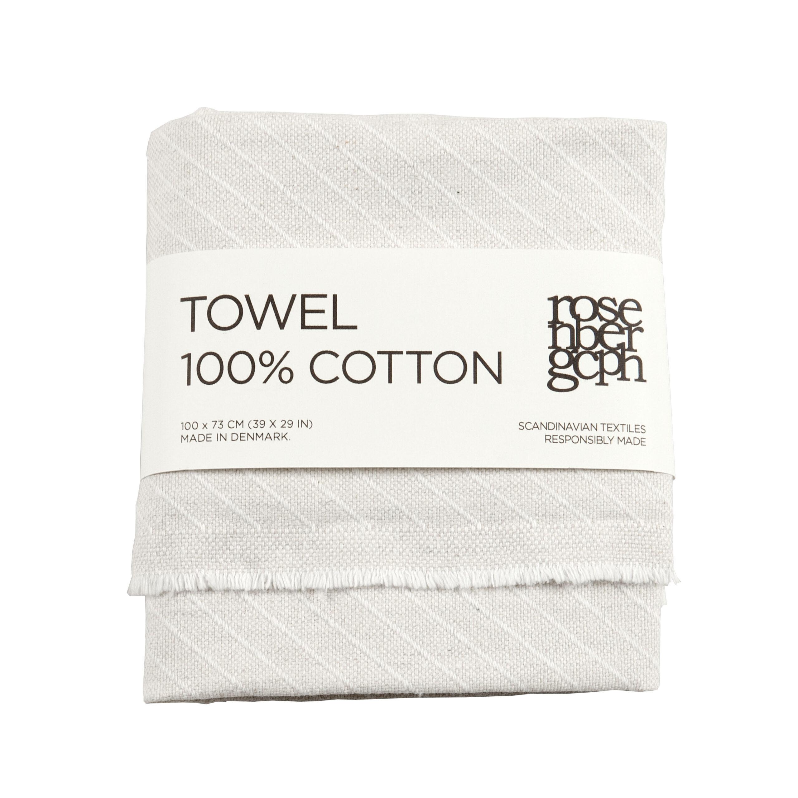 Towel, Stripes, 100% cotton, by RosenbergCph